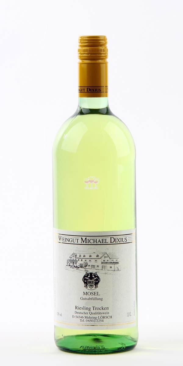 Dixius Riesling trocken 1 Liter