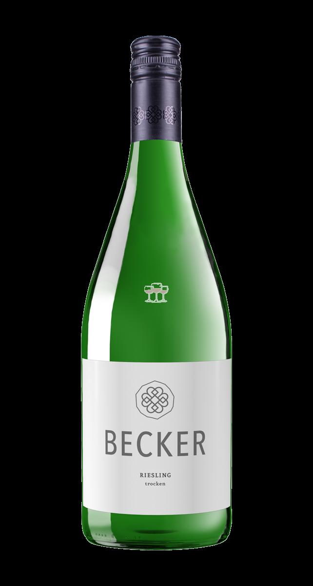 Karlheinz Becker Riesling 1 l Weißwein Deutschland trocken