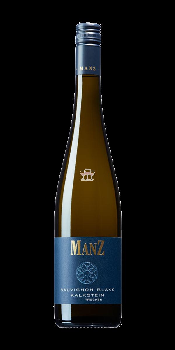 Manz Sauvignon Blanc Kalkstein QbA Weißwein Deutschland trocken