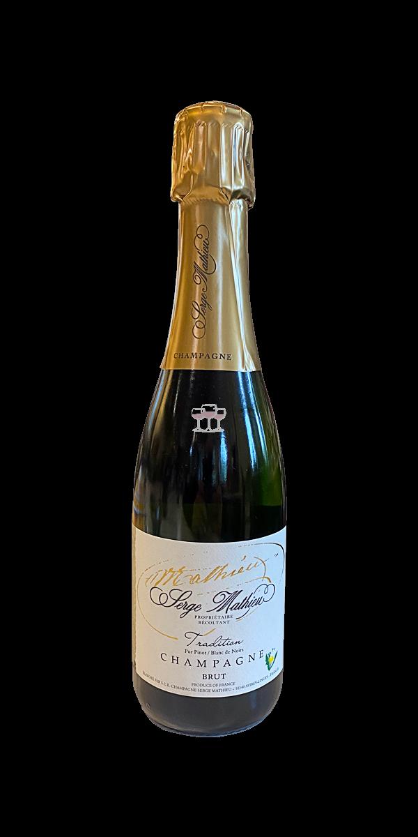 Serge Mathieu Tradition Champagner Brut 0.375 l Frankreich trocken