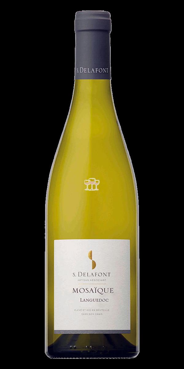 Samuel Delafont Mosaïque Blanc vormals Languedoc Blanc Weißwein Frankreich trocken