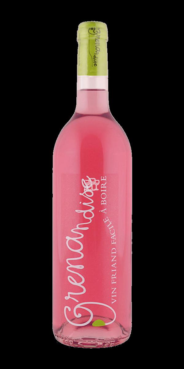 Les Collines du Bourdic Grenandise rosé IGP Pays d'Oc Rosewein Frankreich trocken