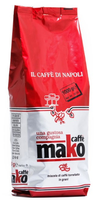 Espresso Mako Red Pack 1kg
