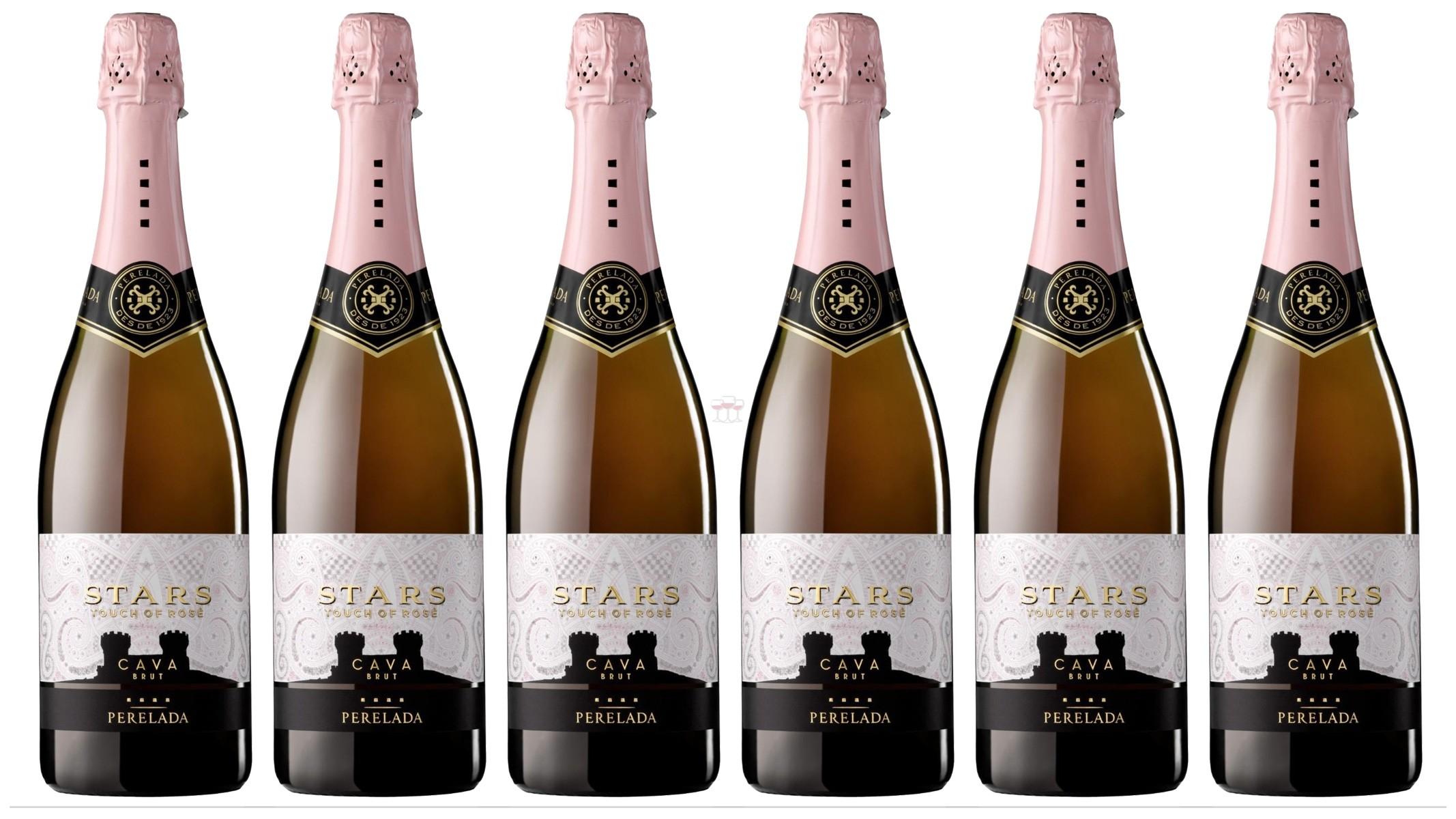 Perelada Cava Stars Touch of Rose 6er Angebot