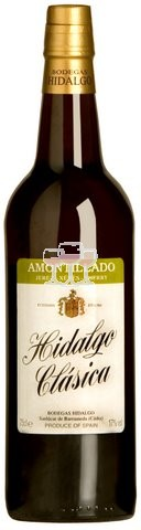 Hidalgo Amontillado Sherry Wein Spanien