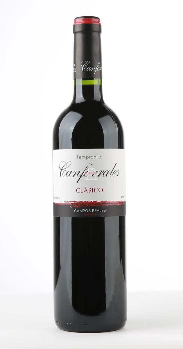 Canforrales Tempranillo Clasico 12er Angebot DO La Mancha Wein Spanien