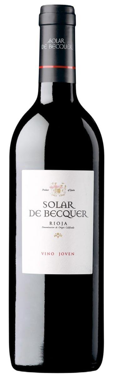 Bodegas Escudero Solar de Becquer Joven 2012 D.O.Ca Rioja 75 cl Rotwein Spanien