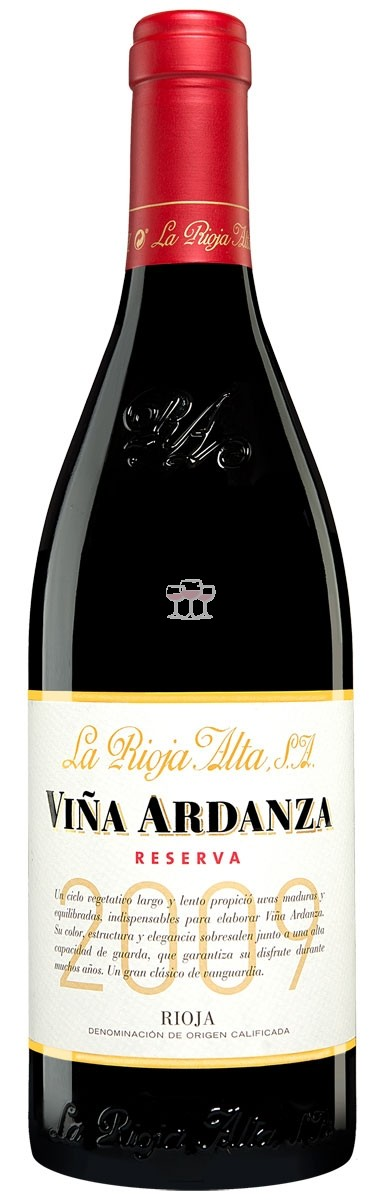 La Rioja Alta Reserva Viña Ardanza 2009