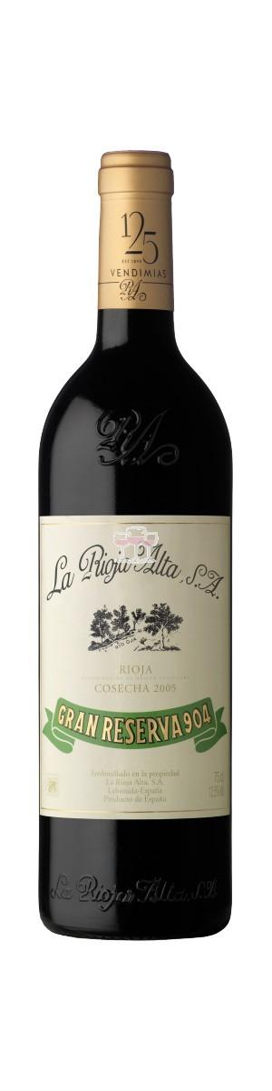 La Rioja Alta Gran Reserva 904 Cosecha 2005