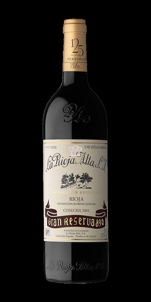 La Rioja Alta Gran Reserva 890 Rotwein Spanien trocken