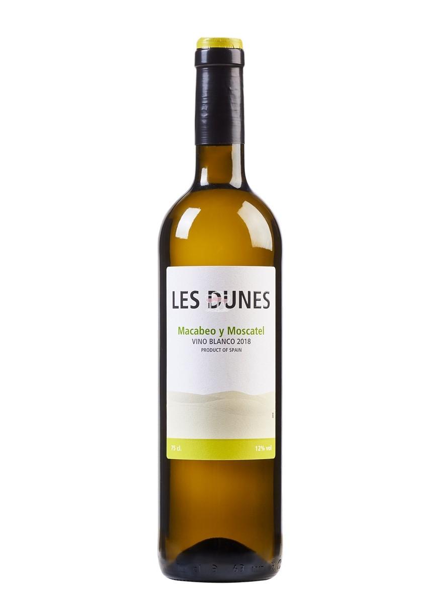 Les Dunes Vino Blanco Macabeo y Moscatel