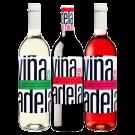 Vina Adela Vino de Mesa Paket Weiß Rot Roseweine Spanien trocken