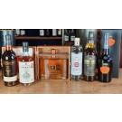 Degustationspaket hochwertige Spirituosen: Gin, Rum, Calvados, Cognac, Grappa, hisky