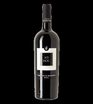 Tenuta Giustini Ad Hoc DOC Primitivo di Manduria Rotwein Italien trocken