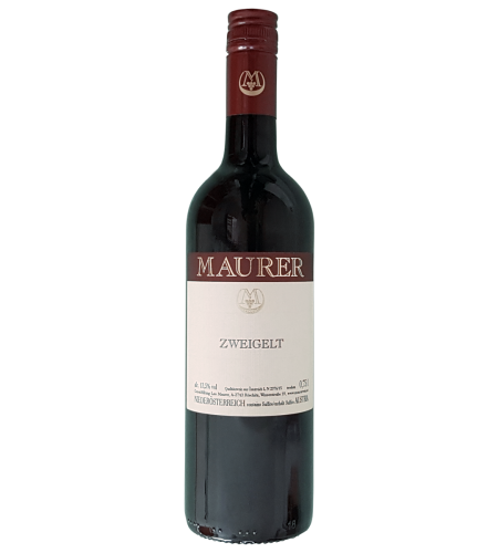 Maurer Zweigelt Österreich Rotwein trocken