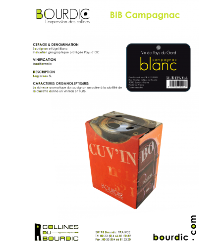 Blanc Bag-in-Box 5 l