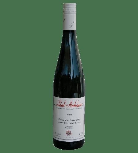 Kreuznacher Mönchberg Grauer Burgunder Weißwein Deutschland trocken