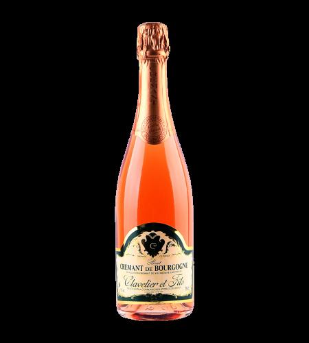 Clavelier et Fils Cremant de Bourgogne Rose Frankreich trocken