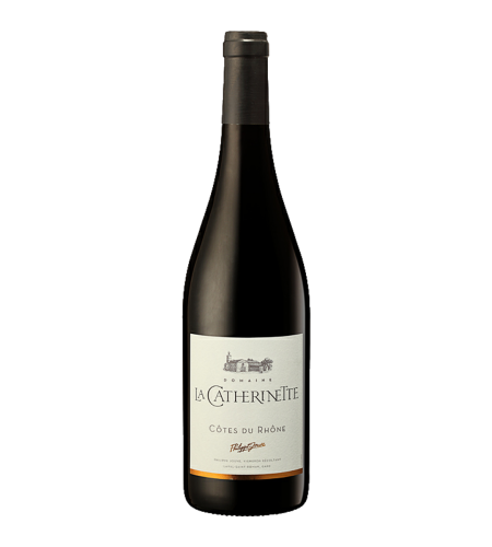AOC Côtes du Rhône La Catherinette Rotwein Frankreich trocken