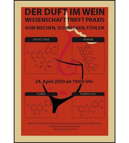 Der Duft um Wein - Weinseminar Wissenschaft trifft Paxis