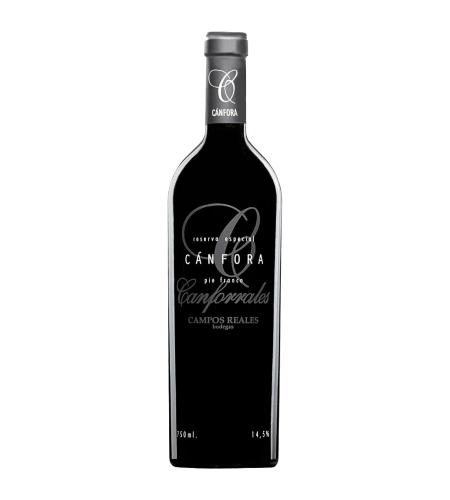 Cánfora Pie Franco Tempranillo Mancha Wein Spanien