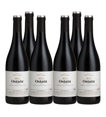 Ostatu TInto 6 Fl Angebot Rotwein Rioja Spanien trocken