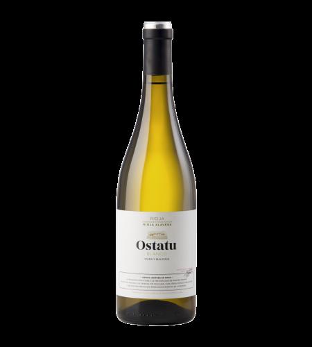 Bodegas Ostatu Blanco Weißwein Rioja Spanien trocken