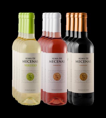 Alma de Mecenas Paket Blanco, Rosado, Tinto Wein Spanien trocken