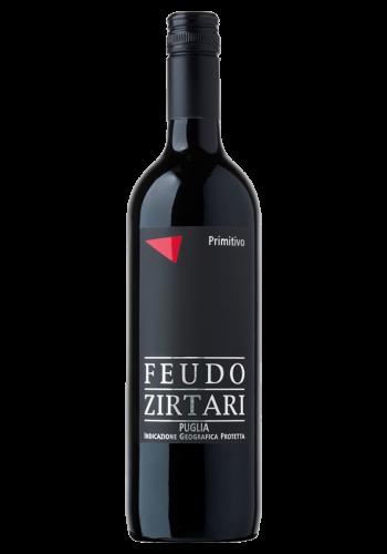 Feudo Zirtari Primitivo IGP Apulia Rotwein Italien trocken