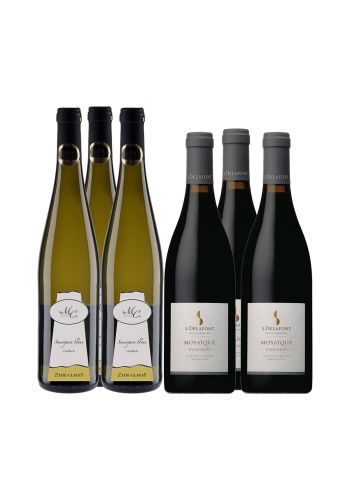 Angebotspaket Zehe Clauss Sauvignon Blanc/Delafont Mosaique rouge