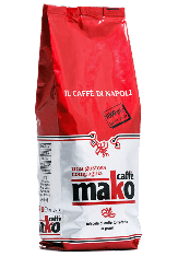 Espresso Mako Red Pack 1kg Kaffee Italien Neapel