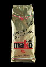 Espresso Mako Gold Pack 1kg Bohnen Kaffee Italien