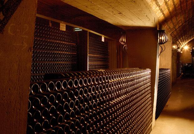 Bodegas Martinez Lacuesta, Haro, La Rioja, Spanien